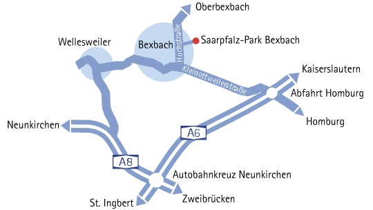 Anfahrtsskizze SPB Wiwie GmbH